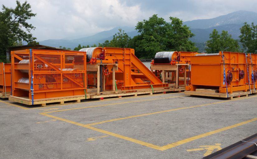 HAMSA - México - Cintas transportadoras para minas subterráneas - LA STEPHANOISE