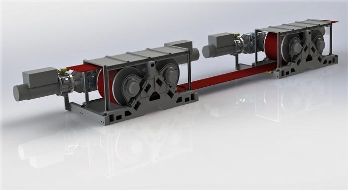 3D - Convoyeur à bandes - Polyak Eynez - LA STEPHANOISE