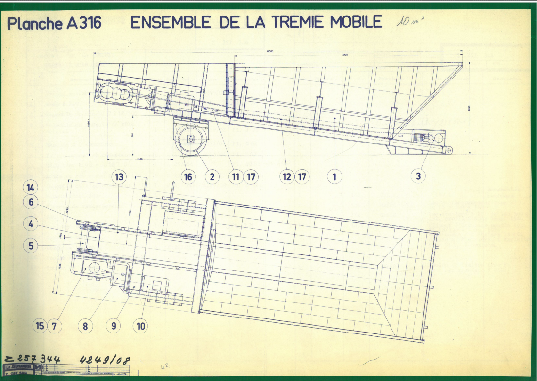 Plan Trémie Mobile - LA STEPHANOISE